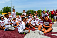Dak interacting with campers